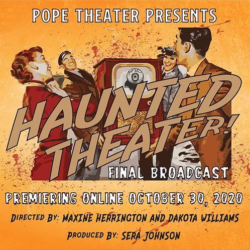 Haunted Theater Fan-o-grams