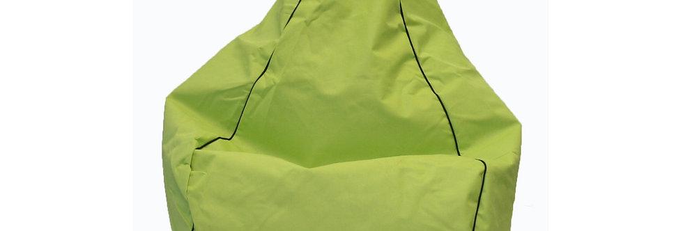200L Green filled bean bag Hire