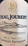 Beau Joubert Cabernet Sauvignon 2018 Label.jpg