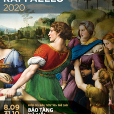 00_MagisterRaffaello_Hanoi Museum_Poster VIE_© Magister Art_ Photo © The Deposition of Christ (Pala Baglioni)_Raphael Sanzio_© MiBACT - Galleria Borghese - foto Alberto Novelli