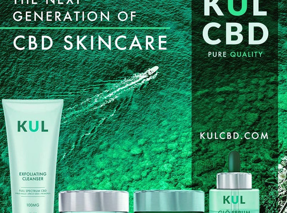 KUL CBD Skincare available at Vape King!