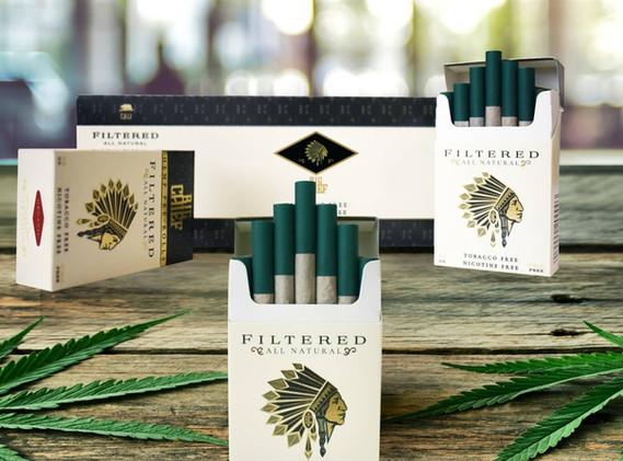Big Chief Hemp Filtered Cigarettes