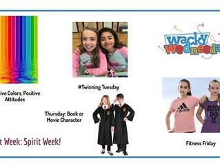 SPIRIT WEEK 2018!