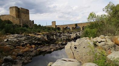 River Tormes Puente del Congosto