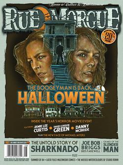 Rue Morgue Cover Art (July 2018)