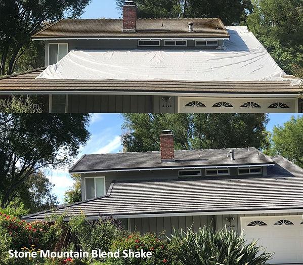 Thousand Oak Roofing Stone Mountain Blend