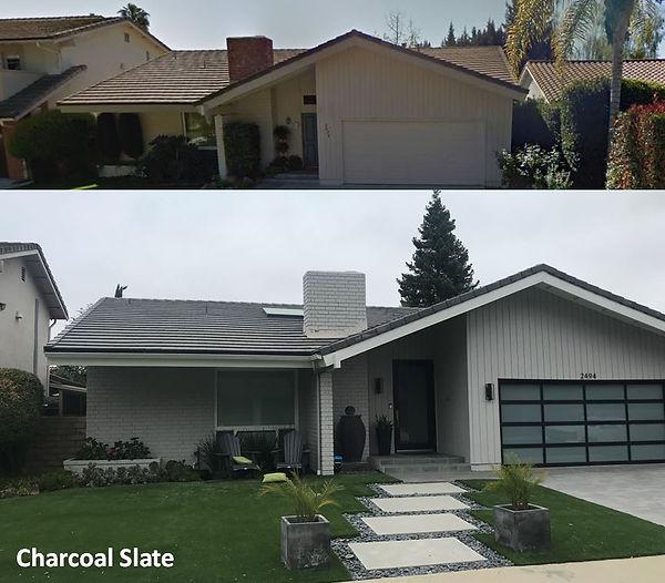 Thousand Oak Roofing Charcoal Slate