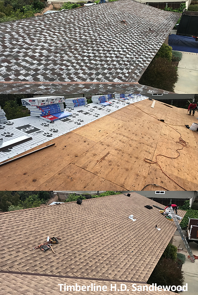 Thousand Oak Roofing Comp Roof