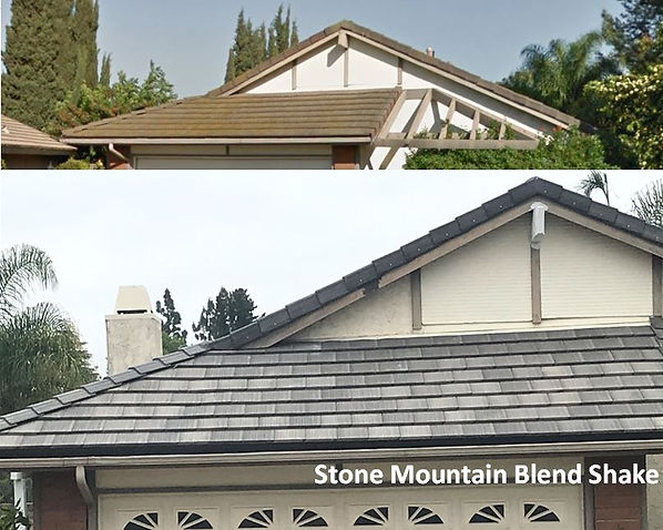 Thousand Oak Roofing Tile Roof