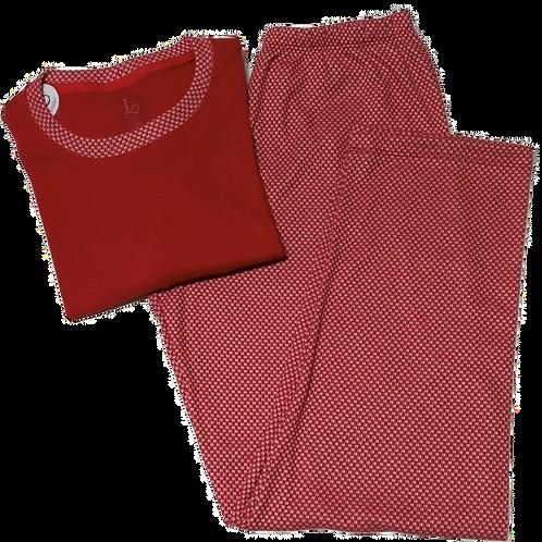 Pijama Vermelho Quadriculado