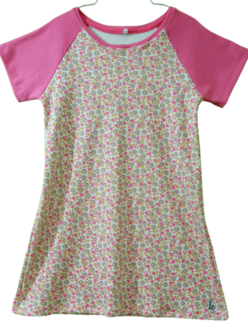 Camisola Juvenil Floral Pink