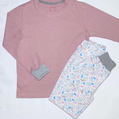 Pijama Feminino Longo Infantil