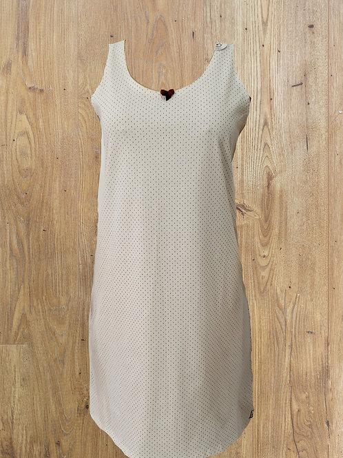 Camisola Regata Poazinho Off-white