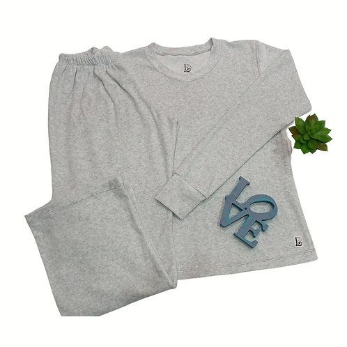 Pijama Longo Feminino Plush