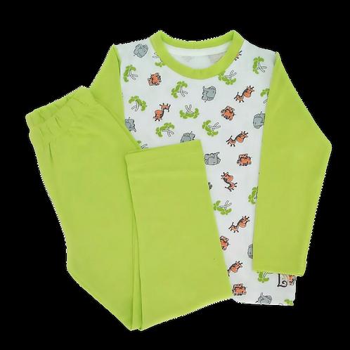 Pijama Infantil Longo Safari