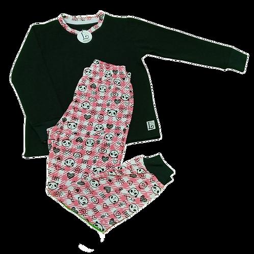 Pijama Fofura Panda