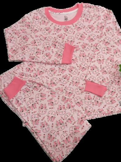 Pijama coelha india rosa longo