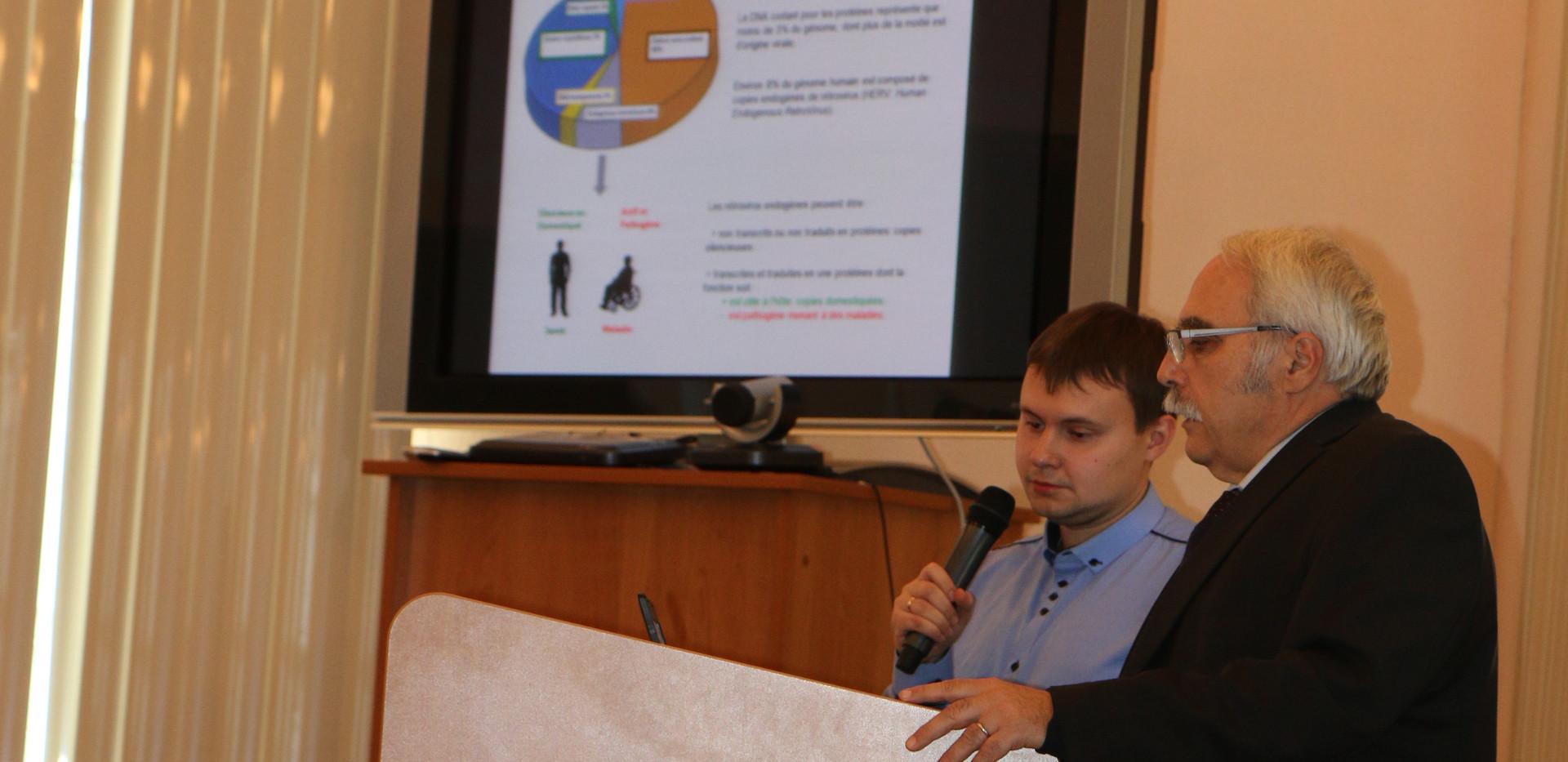 Лекции в ИГМУ Патрис Марш