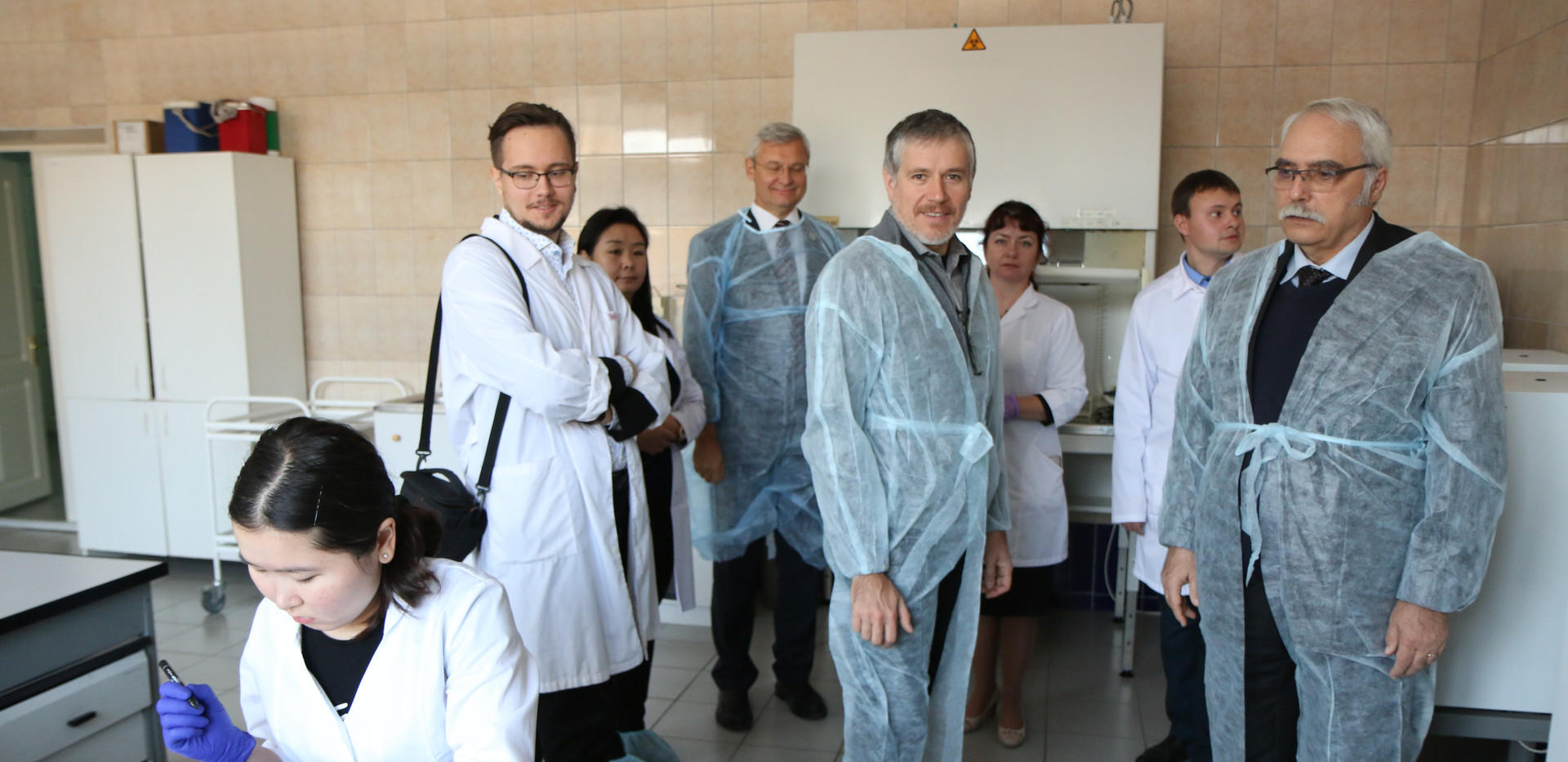 Посещение НИИ БМТ ИГМУ