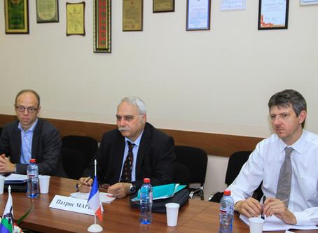 Рабочий визит французских ученых в ИГМУ
