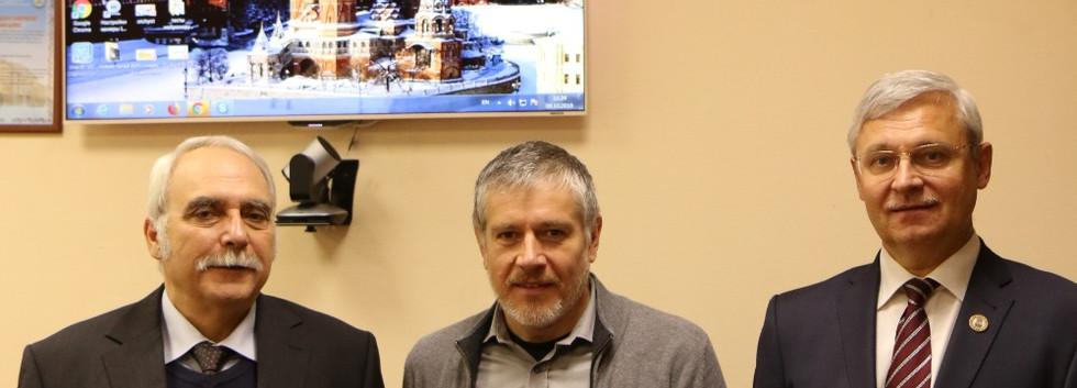 Встреча участников проекта в ИГМУ