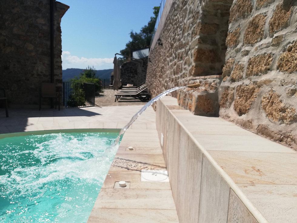 villa rosamaria piscina benessere relax san chirico raparo ...