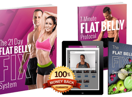 Flat belly fix for 21 days will remove stubborn fat💯☕