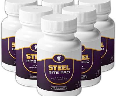 Steel Bite Pro is a high selling offer natural ingredients 🦷🦷