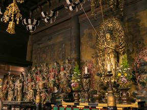 世界遺産・仁和寺の貸切拝観と御殿内での夕餉