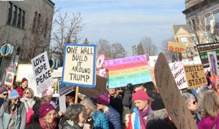 Traverse City Women's March- Exhilarating!