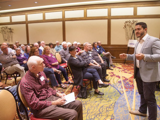 A Second Visit for Abdul-el-Sayed, Running in the Gubernatorial Primary