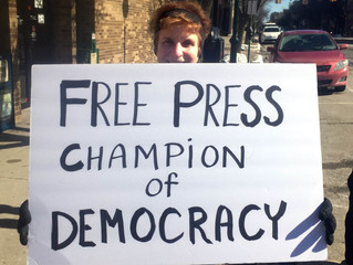 Rally for a Free Press: Protecting our First Amendment Rights