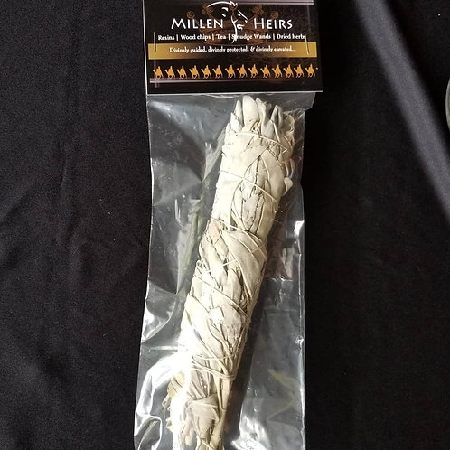9-10 in Sage Smudge Wand