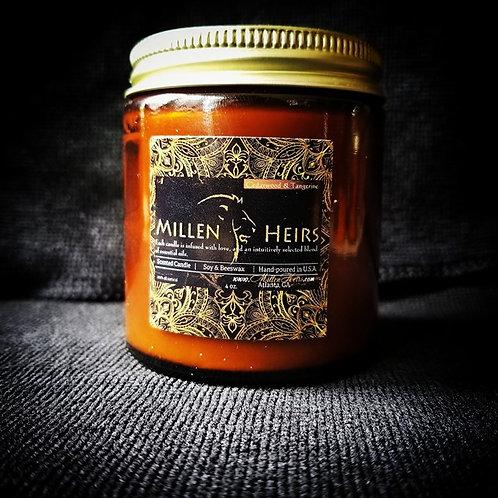 Cedarwood & Tangerine Candle