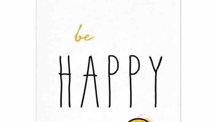 BE HAPPY BY DALAI LAMA