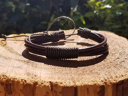 Brown Surfer bracelet