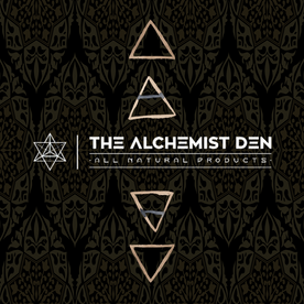 Alchemist Den Main Label.png