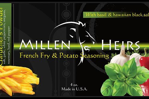 Gardener's Powder-French Fry & Potato Seasoning