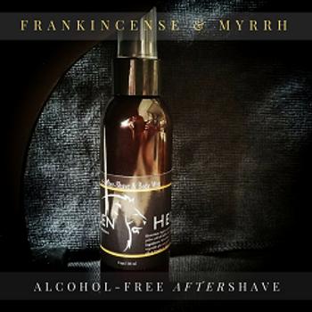 Frankincense & Myrrh Aftershave & Body Mist