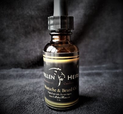 Cranberry & Cypress Mustache & Beard Oil