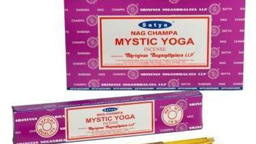 Satya Mystic Yoga Incense 15g