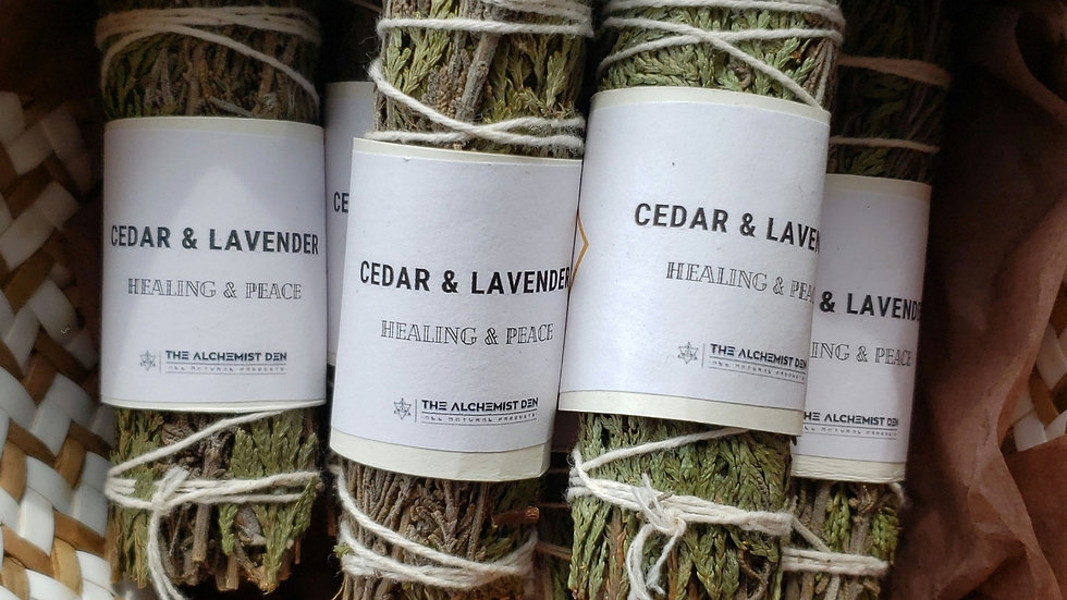 Cedar & Lavender Smudge Wand
