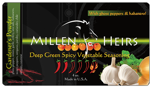Deep Green Spicy Vegetable Seasoning