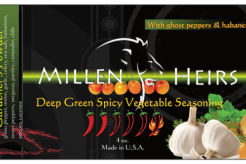 Deep Green Spicy Vegetable Seasoning