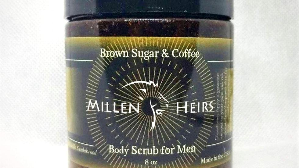 BODY SCRUB Vanilla Sandalwood Brown Sugar & Coffee Body Scrub