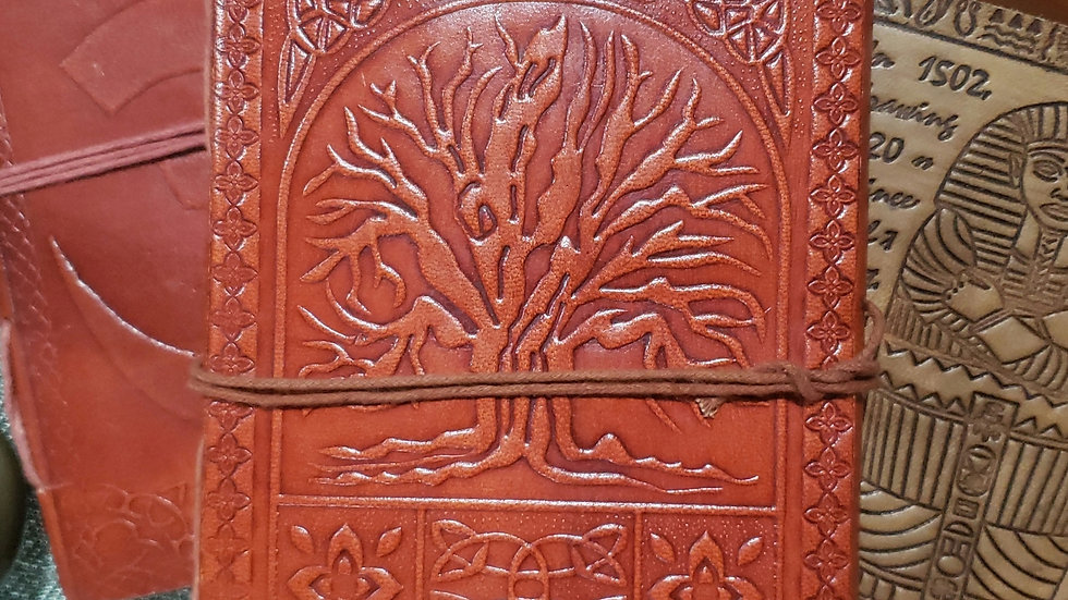 JOURNAL - LEATHER TREE OF LIFE