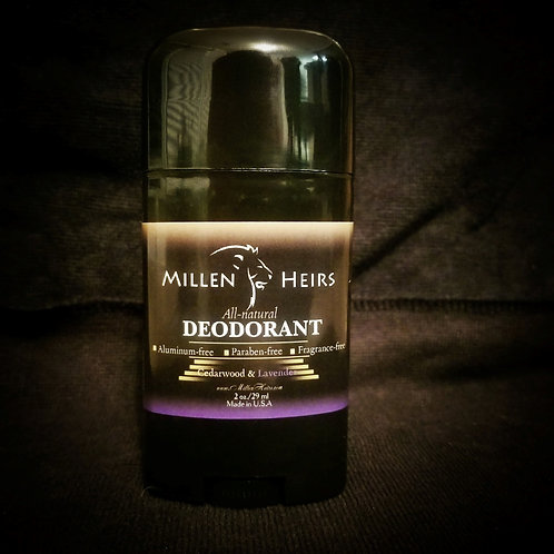 Cedarwood & Lavender All Natural Deodorant