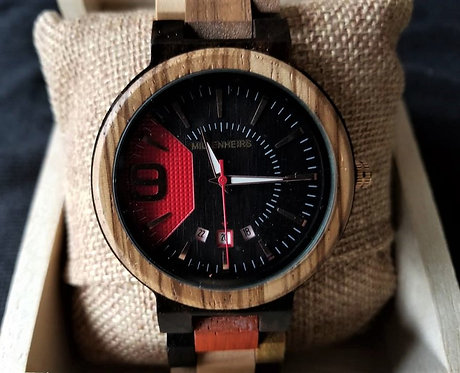 Multi-tone Wooden Watch