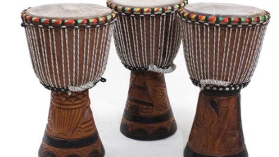 """D'Jembe Drum: Medium 16-18"""""""
