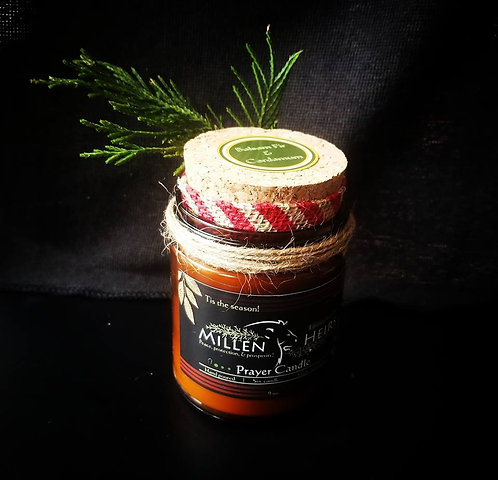 Balsam Fir & Cardamom Prayer Candle